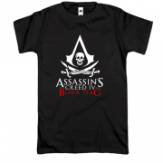 Футболка с лого Assassin's Creed IV Black Flag
