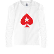 Детский лонгслив PokerStars Christmas Star Baseball Jersey