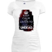 Туника Keep calm and listen Hollywood Undead