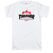 Футболка Thrasher Huf Worldwide