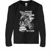 Детский лонгслив Harley Davidson Shadow of the wings