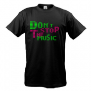 Футболка Dont stop the music