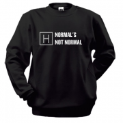 Свитшот Normal's Not Normal