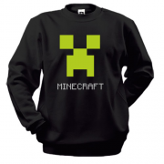 Свитшот Minecraft logo grey