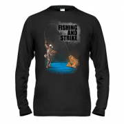 Лонгслив Fishing and strike
