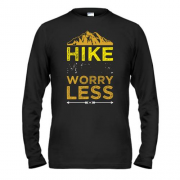 Лонгслив Hike more worry less