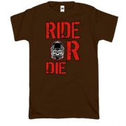 Футболка Ride or die skull