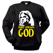 Світшот Kurt Cobain is god