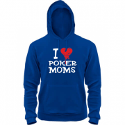 Толстовка Poker I love moms