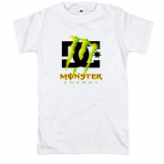 Футболка DC Monster energy