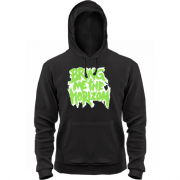 Толстовка Bring me the horizon logo green