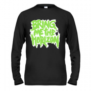 Лонгслив Bring me the horizon logo green