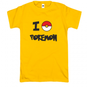 Футболка I love Pokemon