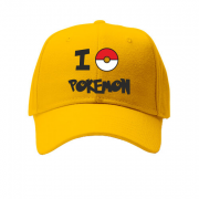 Кепка I love Pokemon