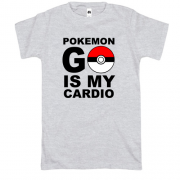 Футболка Pokemon go cardio
