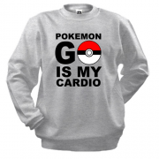 Свитшот Pokemon go cardio
