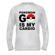 Лонгслив Pokemon go cardio