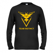 Лонгслив Pokemon Go Team Instinct