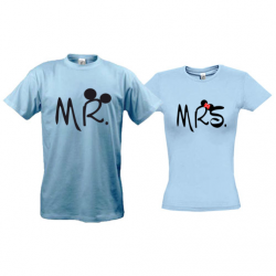 Парні футболки Mr  - Mrs (Mickey style)