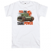 Футболка WOT - Feel the tank power