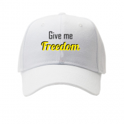 Кепка Give me freedom
