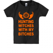 Детская футболка Hunting witches
