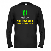 Лонгслив Subaru monster energy