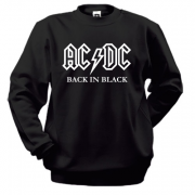 Свитшот AC/DC Black in Black