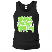 Майка Bring me the horizon logo green