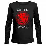 Лонгслив Mother Of Cats  - Game of Thrones