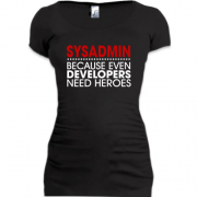 Туника sysadmin because developers need heroes