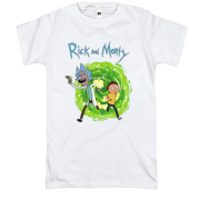 Футболка Rick and Morty