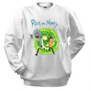 Свитшот Rick and Morty