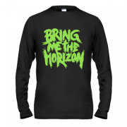 Лонгслив Bring me the horizon green