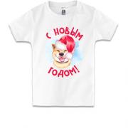 Дитячі футболки на Новий Рік. Купити дитячу футболку на Новий Рік в ... 3f45d2c58c1d7