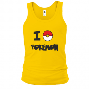 Майка I love Pokemon