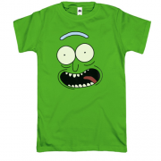 Футболка pickle Rick (пика)