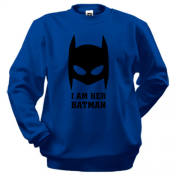 Свитшот I am her batman