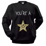 Свитшот You`re a star