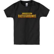 Детская футболка PlayerUnknown's Battlegrounds logo