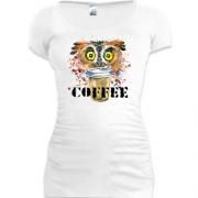 Жіночі подовжені футболки з написом. Купити жіночу подовжену ... 2ff6147fc65df