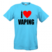 Футболка I love Vaping