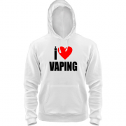 Толстовка I love Vaping
