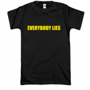 Футболка House M.D. Everybody lies