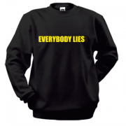 Свитшот House M.D. Everybody lies