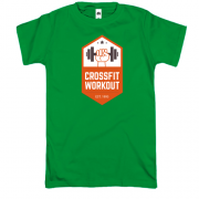 Футболка crossfit workout