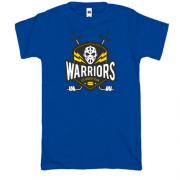 Футболка warriors ice hockey