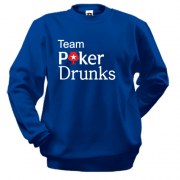 Світшот Team Poker Drunks