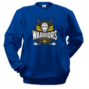 Свитшот warriors ice hockey