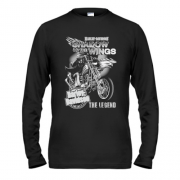Лонгслив Harley Davidson Shadow of the wings